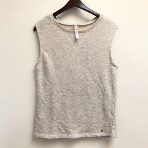 Gray Fabletics sleeveless sweatshirt size M